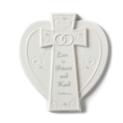 Love Is Patient and Kind Plaque  -