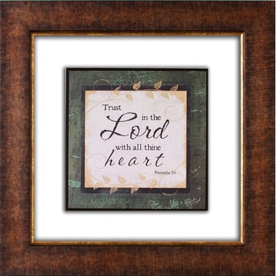 Trust in the Lord Framed Print  -