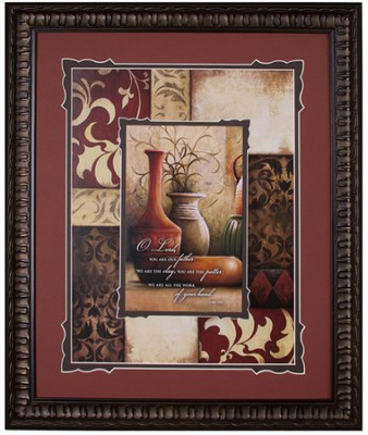 We Are the Clay Framed Art  -