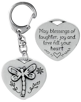 Blessings of Laughter Keyring  -
