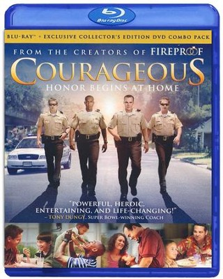 Courageous, Blu-ray/DVD Combo   -