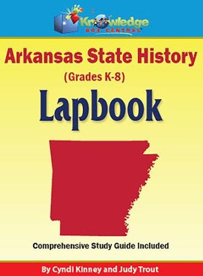 Arkansas State History Lapbook (Printed)  -     By: Cyndi Kinney