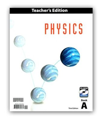 BJU Physics Grade 12 Teacher's Edition with CD-ROM (3rd Edition)     -