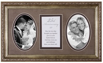 25th Anniversary Photo Frame   -