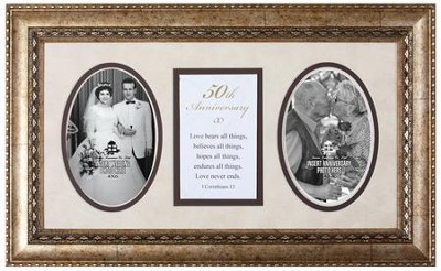 50th Anniversary Photo Frame  -