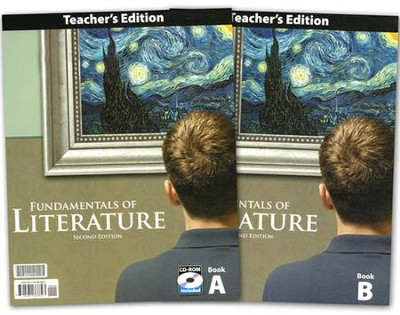 BJU Fundamentals of Literature Grade 9 Teacher's Edition with CD-ROM (Second Edition)  -