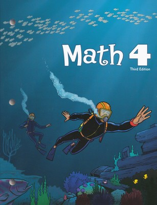 BJU Math Grade 4 Student Worktext, Third Edition    -