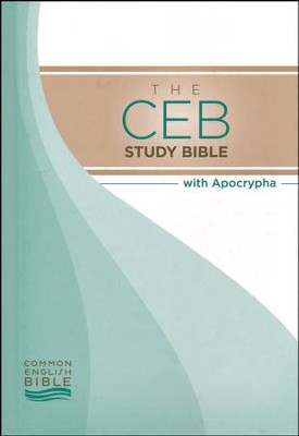 CEB Study Bible with Apocrypha - hardcover  -