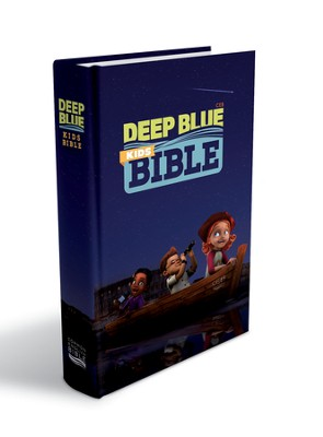 CEB Deep Blue Kids Bible, Hardcover   -