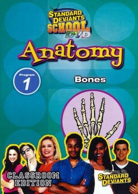Standard Deviants School, Anatomy Program 1: Bones, DVD   -