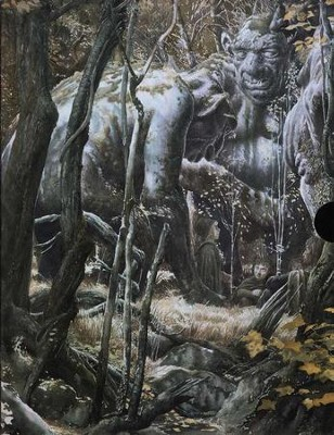 The Lord of the Rings Trilogy, 3 Volumes   -     By: J.R.R. Tolkien     Illustrated By: Alan Lee