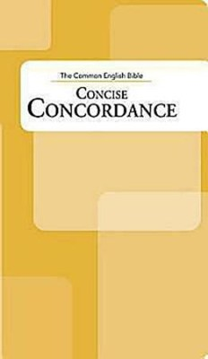 CEB Common English Bible Concise Concordance  -