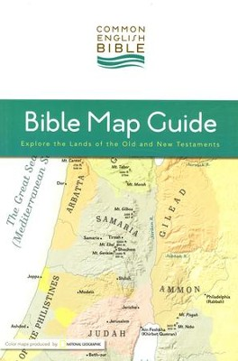 CEB Bible Map Guide   -