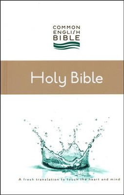 CEB Thinline Bible, Hardcover   -