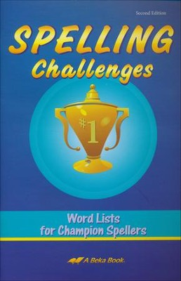 Spelling Challenges: Word Lists for Champion Spellers  (4-7)  -