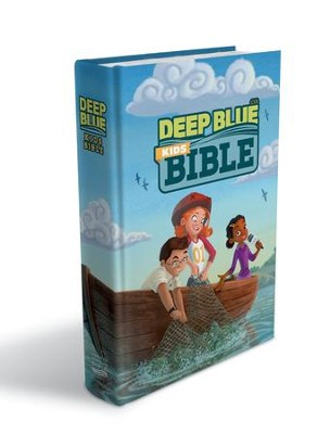 CEB Common English Bible Deep Blue Kids Bible, Bright Sky  -
