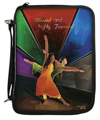 Blessed and Highly Favored Bible Organizer Cover  -