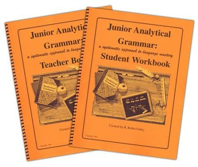 Junior Analytical Grammar Set   -     By: R. Robin Finley