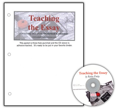 Teaching the Essay Packet & Audio CD   -     By: Robin Finley