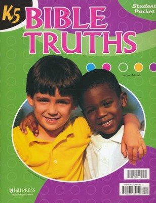 K5 Bible Truths Student Worktext, Updated Second Edition  -
