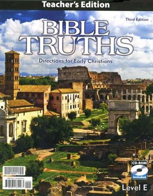 BJU Bible Truths Level E Teacher's Edition with CD-ROM (Grade 11) Third Edition  -