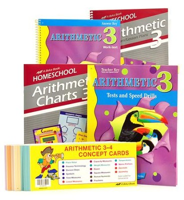 Grade 3 Homeschool Parent Arithmetic Kit  -