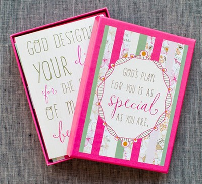 Faith Floral Notes, Psalm 118:24, Box of 12  -