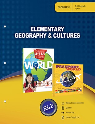 Elementary Geography & Cultures Parent Lesson Planner - PDF Download  [Download] -