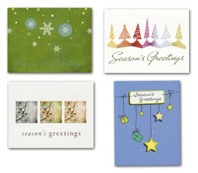 Season's Greetings,  16 Boxed Christmas Cards  -