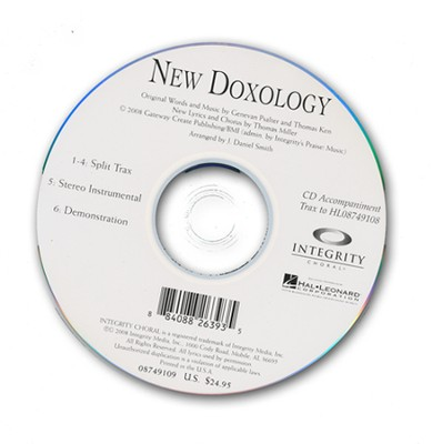 New Doxology (CD Octavo Track)   -     By: Thomas Miller