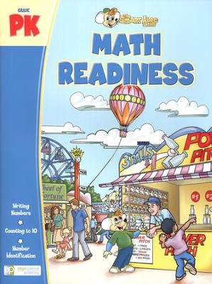 The Smart Alec Series: Math Readiness Grade Pre-K   -