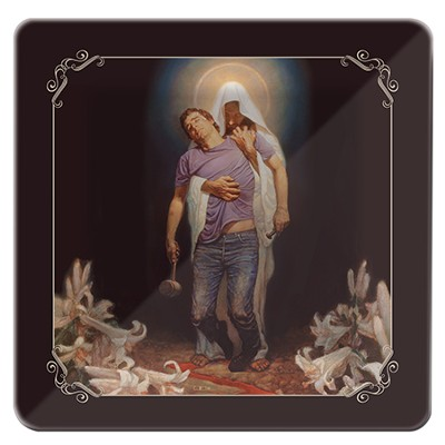 Forgiven Glass Plate  -