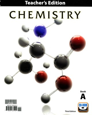 BJU Chemistry Grade 11 Teacher's Edition with CD-ROM (Third Edition)  -