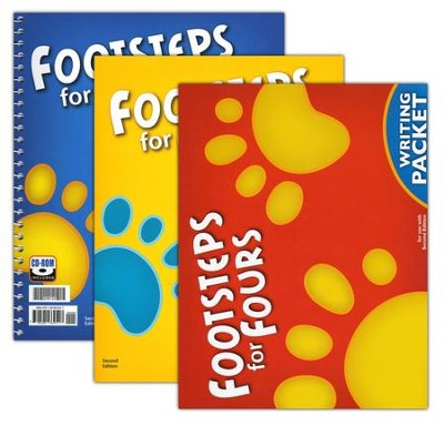 BJU K4 Footsteps for Fours Homeschool Kit, Second Edition   -