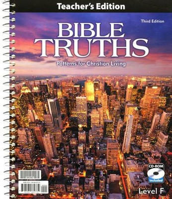 BJU Bible Truths Level F with CD-ROM (Grade 12)   -