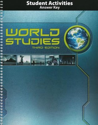 BJU Press World Studies Grade 7 Student Activities Book Answer Key, 3rd Edition  -