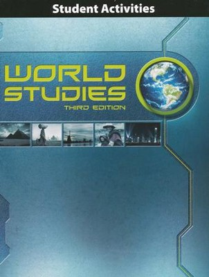 BJU Press World Studies Student Activities Book, Third Edition  -