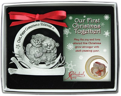 Our First Christmas Together, Owl Ornament  -