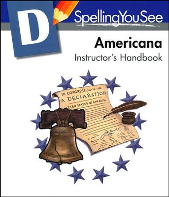 Spelling You See Level D: Americana Instructor's Handbook  -     By: Dr. Karen Holinga Ph.D.
