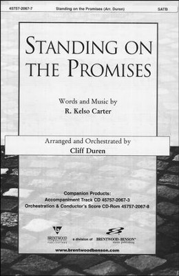 Standing on the Promises (Anthem)   -