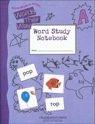 Words Their Way Level A Student Notebook, Grade 1   -