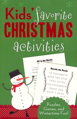Kids' Favorite Christmas Activities: Puzzles, Games, and Wintertime Fun!  -