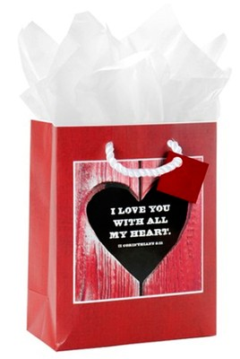 All My Heart Gift Bag, Small  -