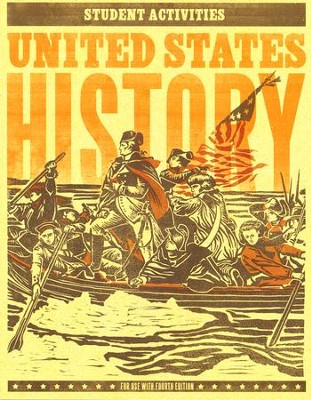 BJU U.S. History Grade 11 Student Activity Manual (Fourth Edition)    -
