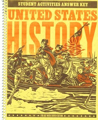 BJU U.S. History Grade 11 Activity Manual Key (Fourth Edition)    -