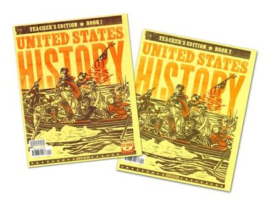 BJU U.S. History Grade 11 Teacher's Edition with CD-ROM    (Fourth Edition)  -