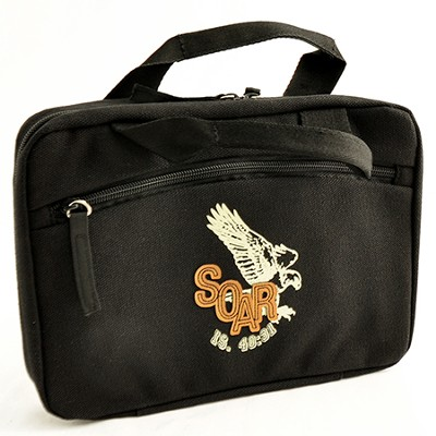 Bible Cover, Soar, Eagle, Black, Medium   -