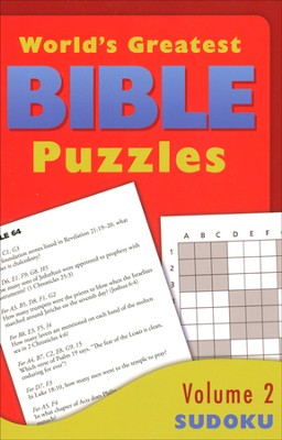 World's Greatest Bible Puzzles-Volume 2 (Sudoku)  -