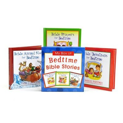 My Box of Bedtime Bible Stories  -     By: Daniel Partner, Jane Landreth