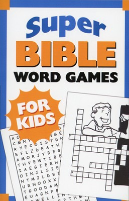 Super Bible Word Games for Kids  -